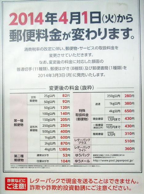 請求書などを送る封筒に貼る切手も82円になります